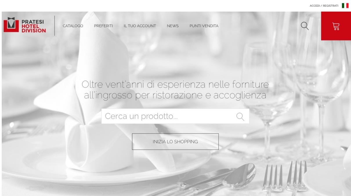 Il nuovo sito E' finalmente online