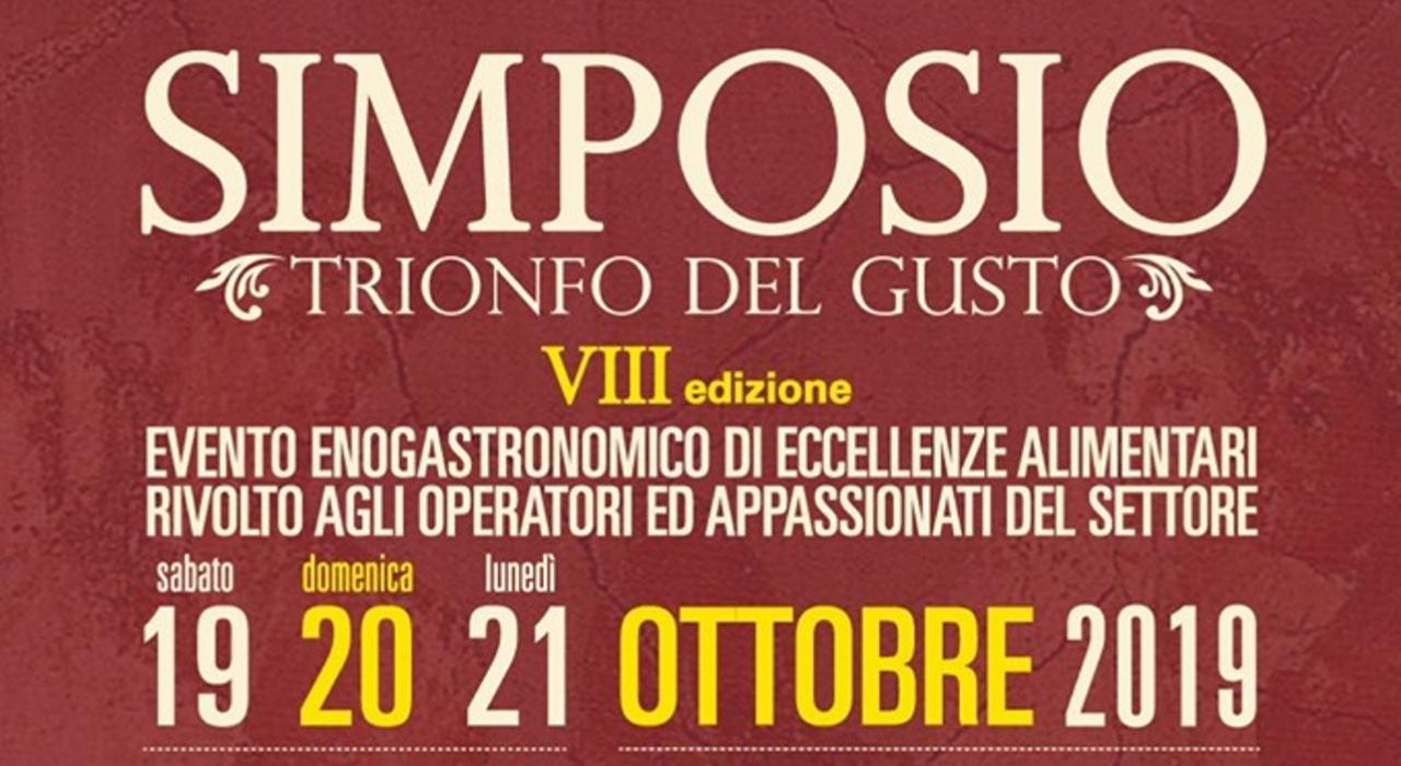 """VIII edizione di """"SIMPOSIO il trionfo del gusto"""""""
